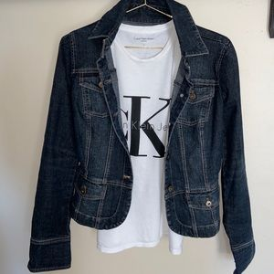 Calvin Klein Jean Jacket and top